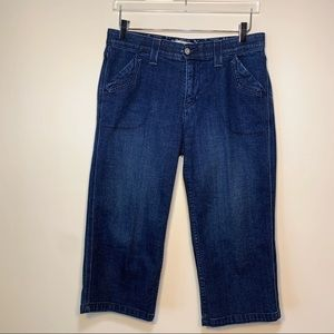 Levi's | Cropped With Elastic Waistband | Size 12